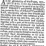 nydailyadv14april1790applebywatsonwillett