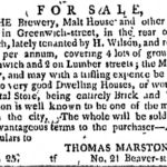 nycommadv26jan1799greenwichbrewerysale